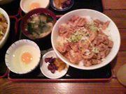 """赤塚名物""""スタミナ丼""""!!!!"""