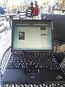ThinkPadでカフェ仕事
