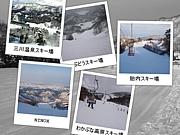 下越のスキーヤー&スノーボーダ