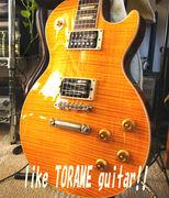 トラ目が出てるギターが好き!!