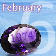 1974年2月6日寅年生まれ