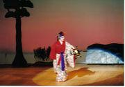琉球舞踊阿波連本流啓扇明峯の会