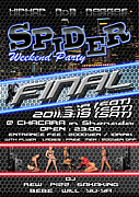 SPIDER Weekend Party【湘南台】