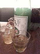 仲町の梅酒を飲み尽くす快。