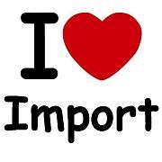 I ♡ Import