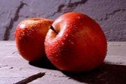 りんご酢とトマトジュース