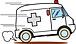 民間救急車(患者搬送車両)