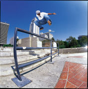 Stevie Williams Skateboarding