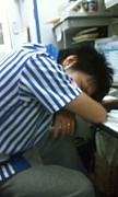 ひろしさんが寝た!
