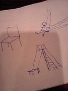 スイス→すべりだい→椅子