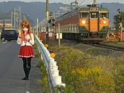 着ぐるみ&鉄道