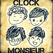 CLOCK MONSIEUR