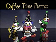 Coffee Time Pierrot