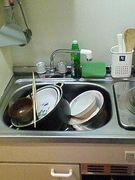 皿洗いがしんどい!
