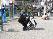 愛知学院大学 バイク乗りさん
