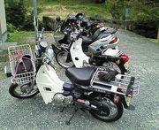 カブ系バイクで林道を走ろう!