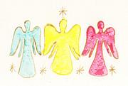 三人の天使&天使と繋いだ手