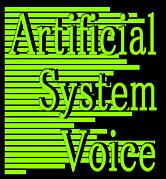 システム音声・合成音声