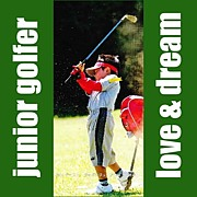 - junior golfer -
