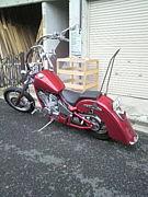 赤のバイクたちin福岡