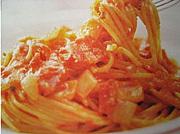 トマトソース系パスタが特に好き
