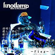 Flag/knotlamp
