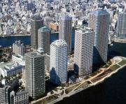 大川端リバーシティ21☆月島