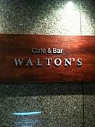 CAFE&BAR  WALTON'S