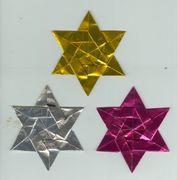 折り紙によるダビデの星開運法!