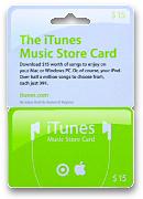 iTunes Music Store Card & GC