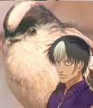 小鳥のような知念君。