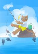 釣りに行きたくても行けない