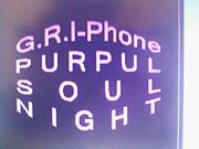 G.R.I-Phone PURPUL SOUL NIGHT