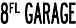 川西市のアメリカ「8FL GARAGE」