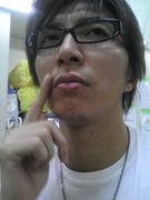 礼央氏の髭