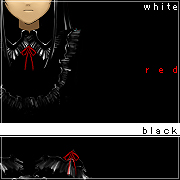 ■White + Red + Black■