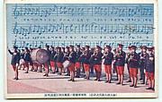 軍楽隊と信号ラッパ