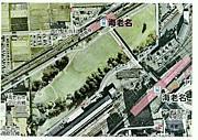 海老名駅小田急相模線間に公園を