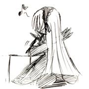 ローゼン絵描いてます!