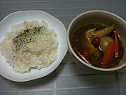 自宅でスープカレー in 札幌
