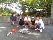 沖縄南部でソフトテニスの練習会