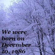 ■□1986年12月10日生まれ□■