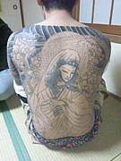 刺青〜額彫りが好き!