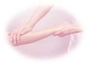 彼氏の腕をさわさわするのが好き