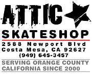 ATTIC★ skate shop☆☆☆☆☆☆