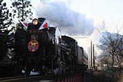 復活した蒸気機関車