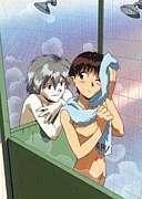 渚カヲルと風呂に入りたい。