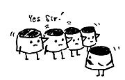 プリン隊(^O^>