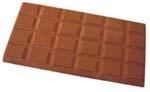 板チョコが好き。