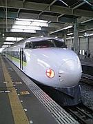 新幹線の座席は通路側で!!